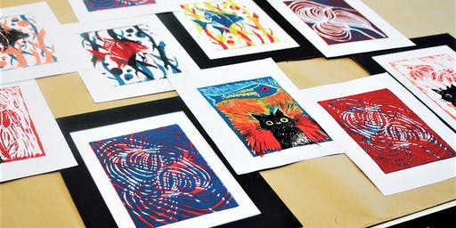 Lino printmaking workshop