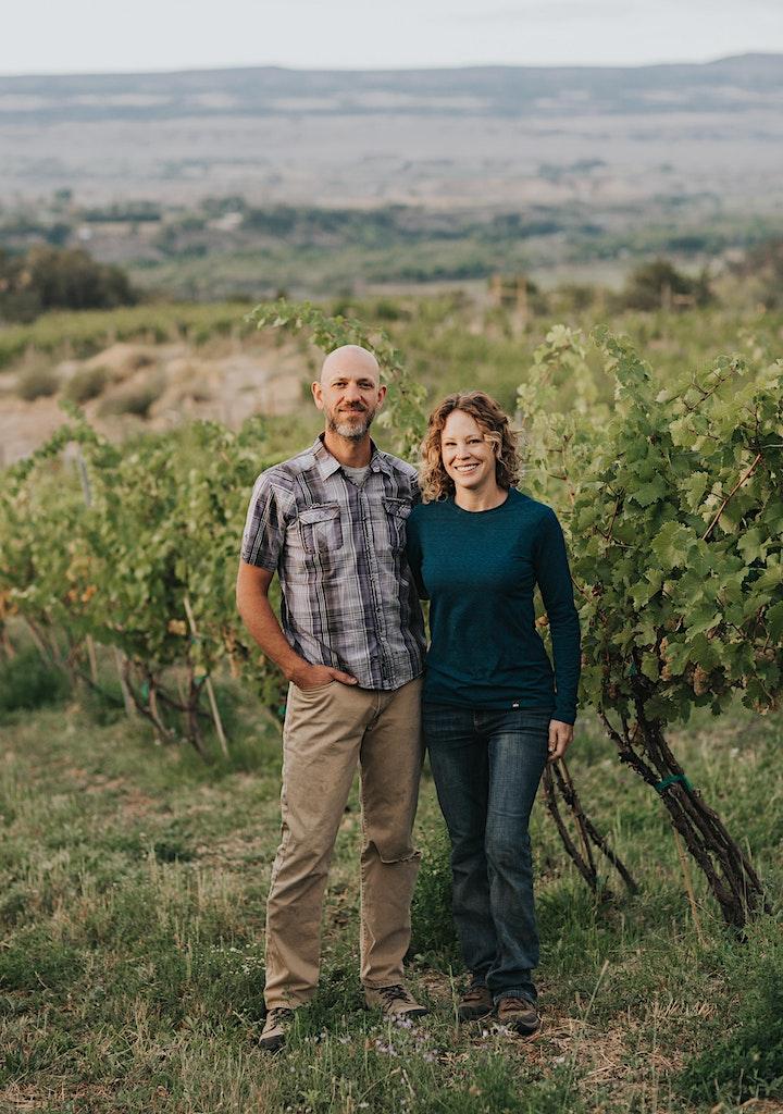Sommelier-Winemaker 4-Course Dinner in the Vineyard image