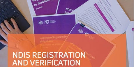 NDIS Registration 101 - Nowra tickets