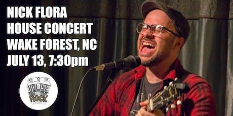 Nick Flora House Concert tickets