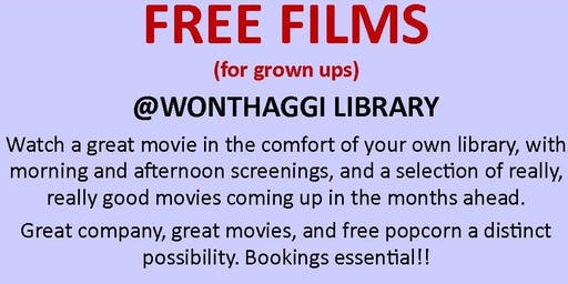 Free Film Screenings @ Wonthaggi Library