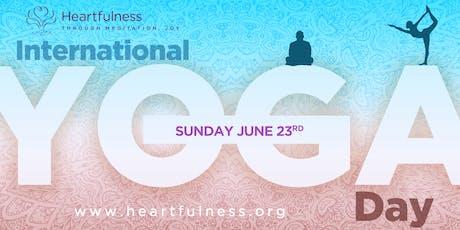 Heartfulness Yoga Day 2019 tickets
