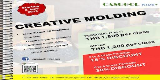 CREATIVE MOLDING (Daily class)