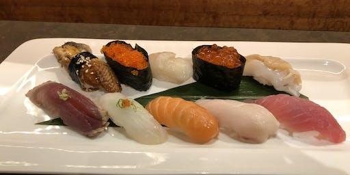 "Singles Event ""How to Make Sushi"" at Ebisu Restaurant"