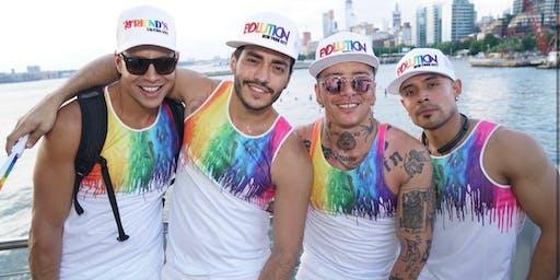 Sea Tea: NYC's Gay Party Cruise - World Pride Latino Fireworks Cruise