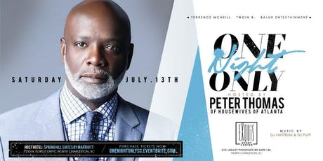 One Night Only with Peter Thomas tickets