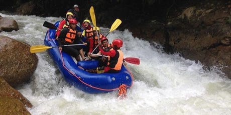 Water Rafting + Sunset Hike + Caving + Camping tickets