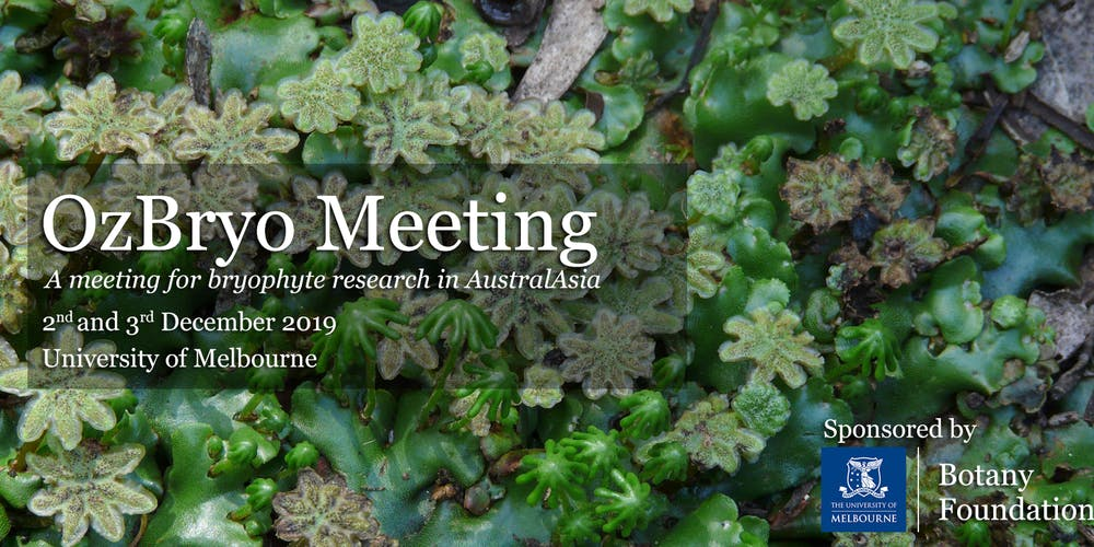 OzBryo 2019 Meeting Registration, Mon 02/12/2019 at 9:00 am
