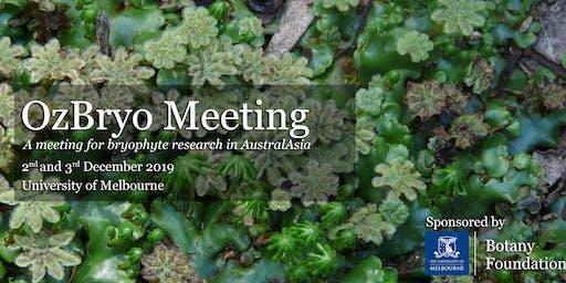OzBryo 2019 Meeting
