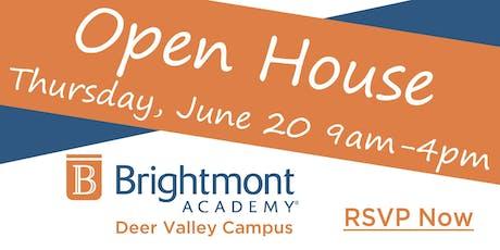 Brightmont Academy - Deer Valley Open House tickets
