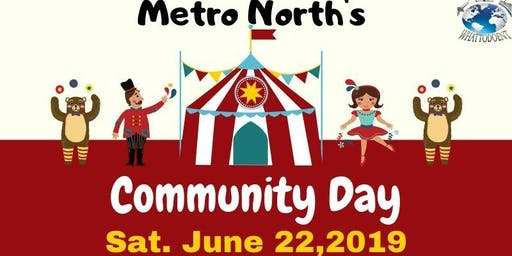 Metro North's Community Day