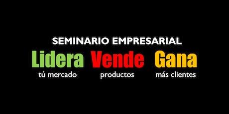 LIDERA VENDE GANA Seminario | @lideravendegana entradas