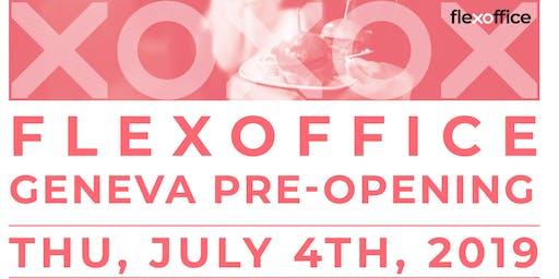 FlexOffice Geneva Pre-Opening