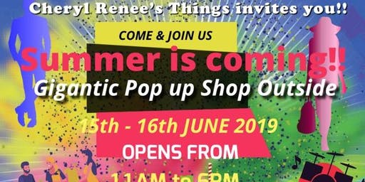 Gigantic Pop Up Shop!!