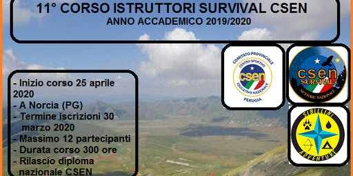 Corso per istruttori survival CSEN