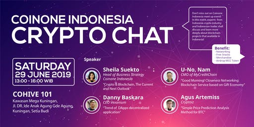 Coinone Indonesia Crypto Chat