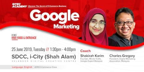 2019 SITEC E-Commerce Class 303: Google Marketing tickets