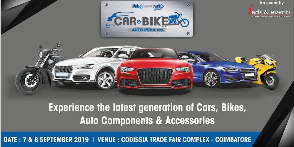 Car Bike Expo 2019 Tickets Sat Sep 7 2019 At 10 00 Am