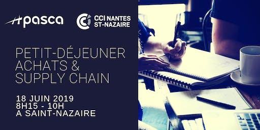 Petit déjeuner Achats Supply Chain 18/06 CCI/PASCA à St-Nazaire