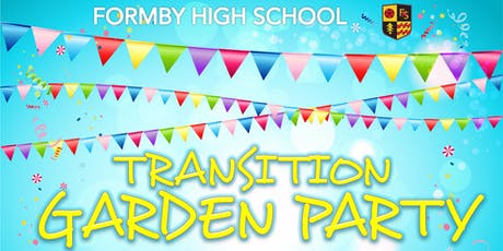 Transition Garden Party 2019 tickets