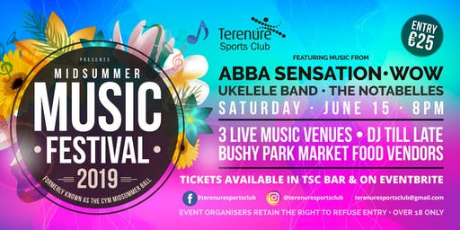 Terenure Sports Club | Mid Summer Music Festival