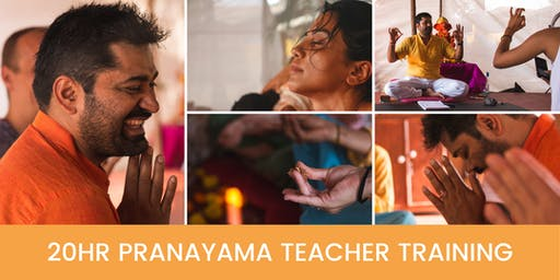20hr Pranayama Teacher Training with Gaurav Malik