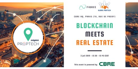 Blockchain meets Real Estate (official MIPIM PropTech event) tickets