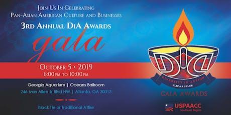 USPAACC-SE 3rd Annual DiA Awards Gala tickets