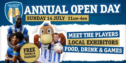 Colchester United Open Day 2019