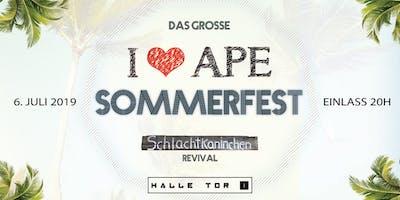 I Love APE - Sommerfest