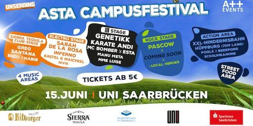 AStA Campusfestival 2019 - Uni Saarbrücken
