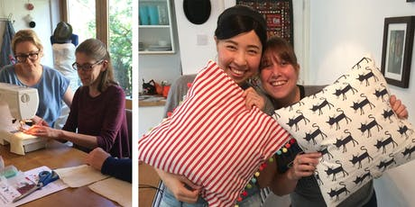 Beginner's Sewing: Learn To Make An Envelope Cushion Cover tickets