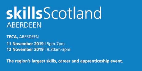 Skills Scotland Aberdeen 2019 - Family / Individual Registration tickets