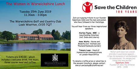 Save the Children Centenary Celebration Lunch  tickets