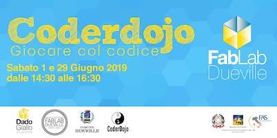 Coderdojo Dueville 1 e 29 Giugno 2019