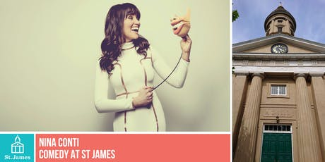 Comedy at St James: Nina Conti tickets
