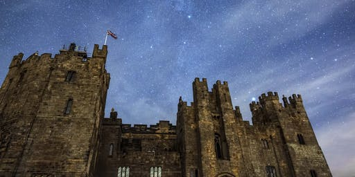 Raby Castle, Inside and Out - Perseid Meteor Shower