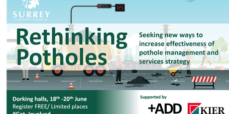 Rethinking Potholes - Surrey County Council tickets