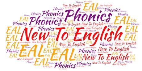 Burley Woodhead English Hub - Phonics for EAL/NTE pupils tickets