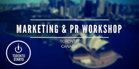 Marketing & PR Workshop with The Startup Coach tickets
