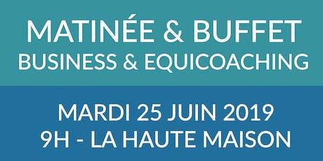 Matinée & Buffet BUSINESS - Equicoaching & OPR au Domaine Équestre de Haute Maison billets