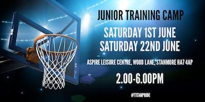 London Titans WBC Junior Camp