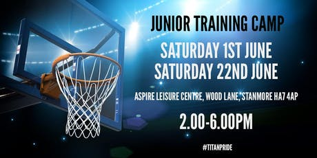 London Titans WBC Junior Camp tickets
