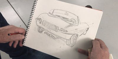 Sketching and Painting Cars - Autumn Workshop