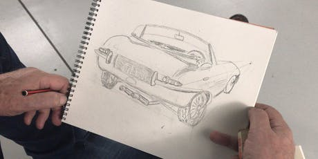 Sketching and Painting Cars - Autumn Workshop tickets