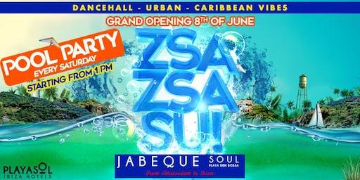 Zsa Zsa Su! Poolparty - Every Saturday - Ibiza (Playa d'en Bossa)