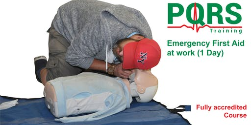 Emergency First Aid at Work (RQF 1 Day course Accredited by Qualsafe) 22 July 2019