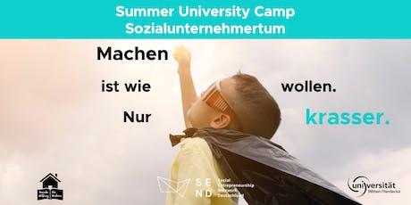 MACHEN IST WIE WOLLEN NUR KRASSER SummerUniversityCamp, Uni Witten/Herdecke Tickets