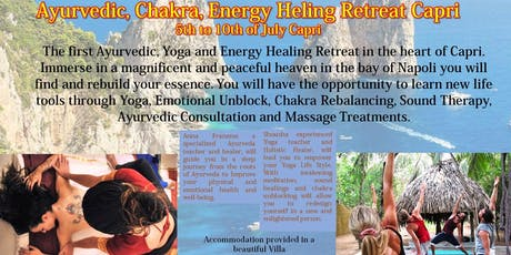 Yoga and Ayurvedic Retreat Capri tickets
