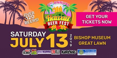 Hawaii Beer Fest 2019 tickets